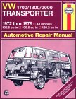 Vw 1700/1800/2000 Transporter/All Models...